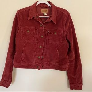 Levi's | Red Cord Jacket